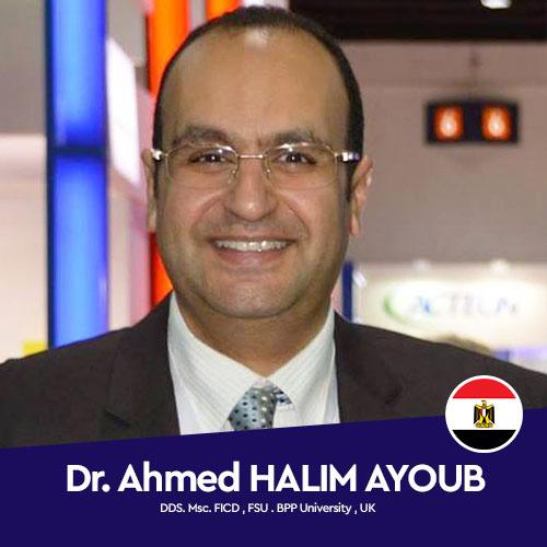 Dr. Ahmed Halim AYOUB