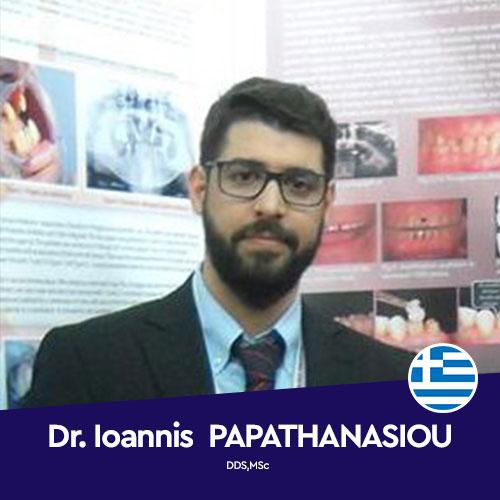 Dr. Ioannis PAPATHANASIOU